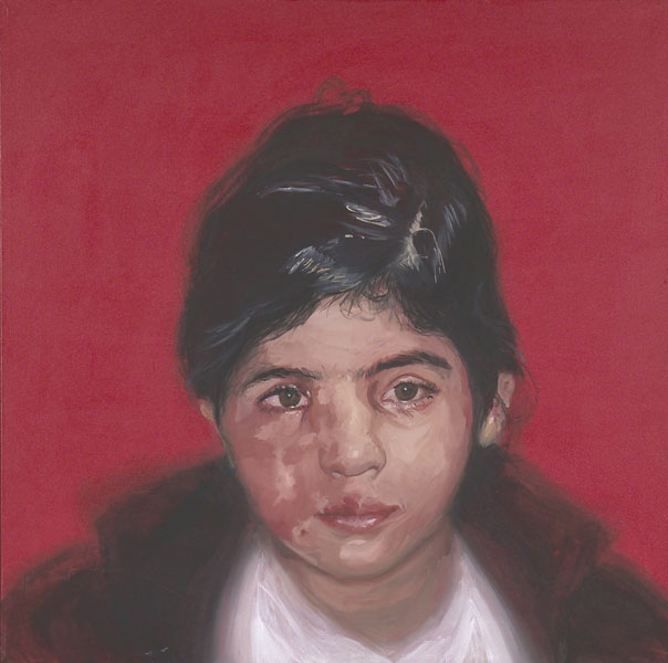TUBA K. Oil on Canvas, 34 x34inches 2000